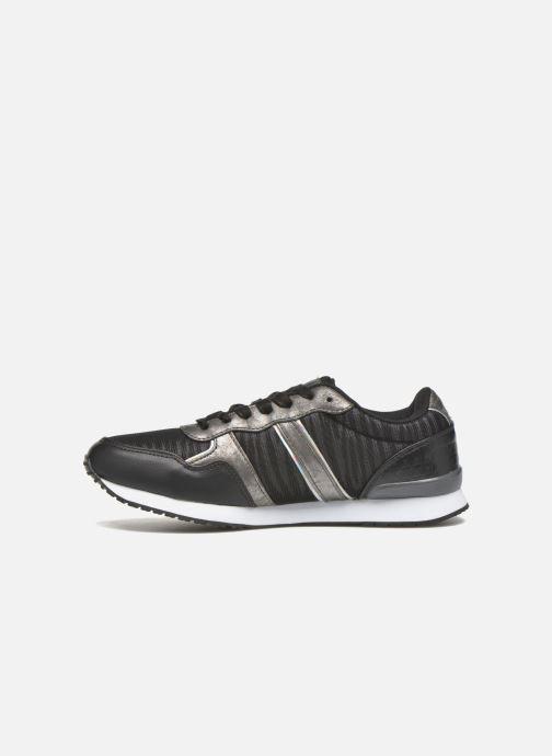 Sneaker Kaporal Jemma schwarz ansicht von vorne