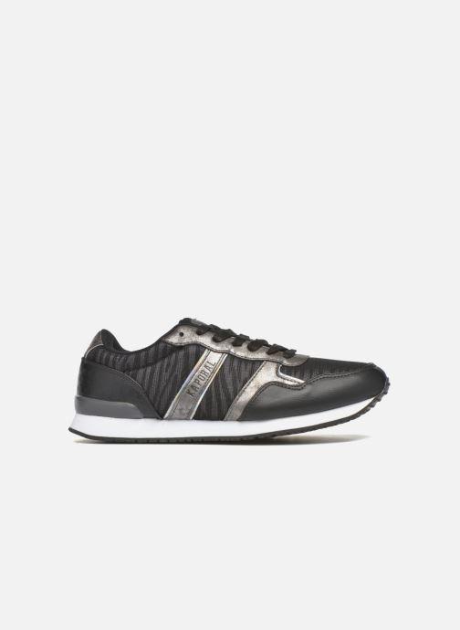 Sneaker Kaporal Jemma schwarz ansicht von hinten