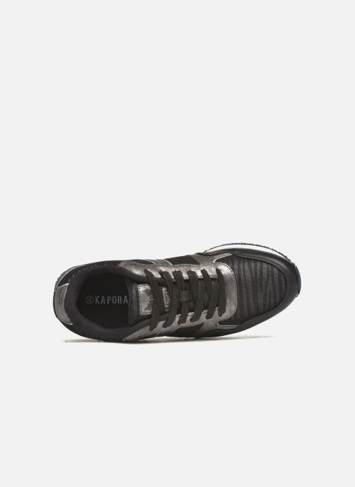 Sneaker Kaporal Jemma schwarz ansicht von links