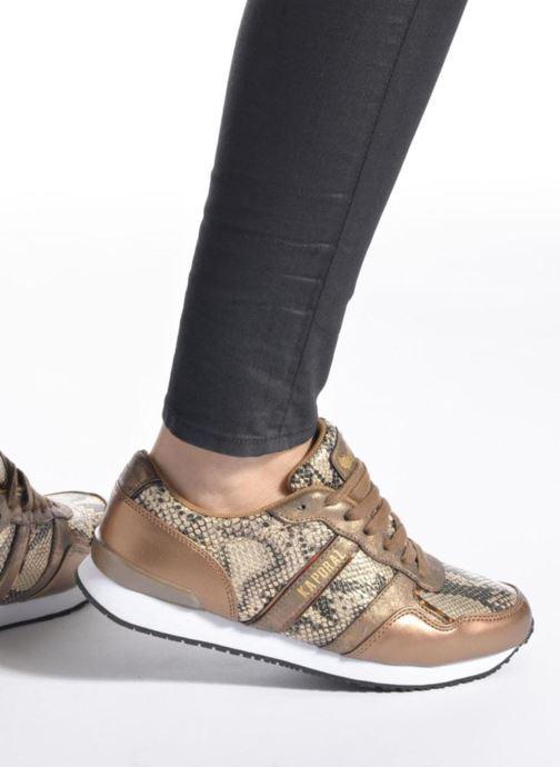 Sneakers Kaporal Jemma Oro e bronzo immagine dal basso