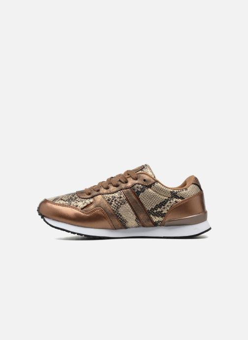 Trainers Kaporal Jemma Bronze and Gold front view