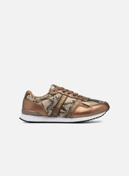 Trainers Kaporal Jemma Bronze and Gold back view