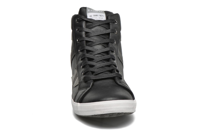 Baskets Kaporal Tyan Noir vue portées chaussures