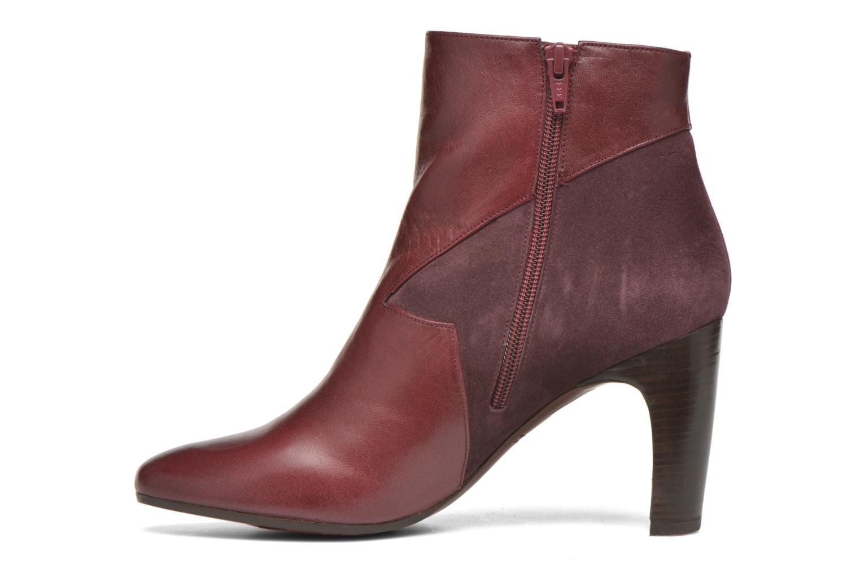 Bottines et boots Chie Mihara Flint-C Bordeaux vue face
