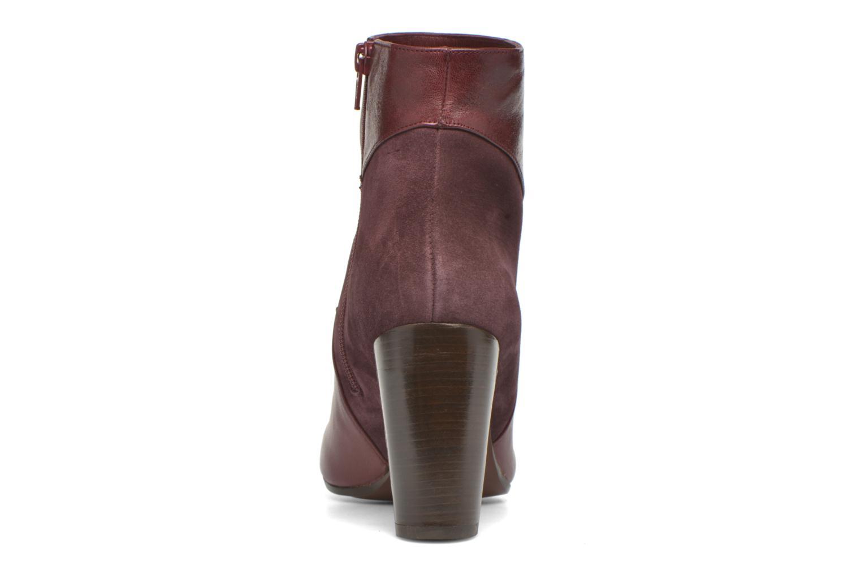 Bottines et boots Chie Mihara Flint-C Bordeaux vue droite