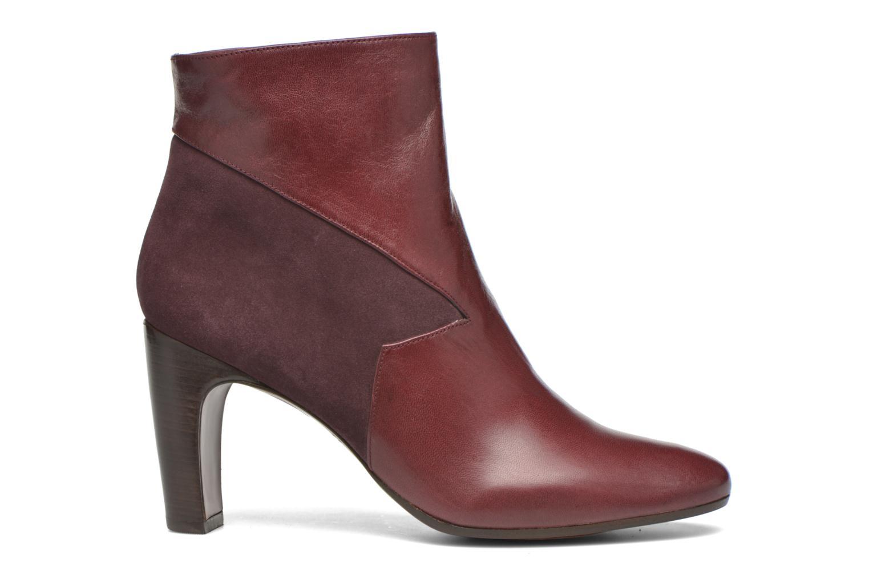 Bottines et boots Chie Mihara Flint-C Bordeaux vue derrière