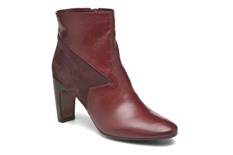 Bottines et boots Chie Mihara Flint-C Bordeaux vue détail/paire