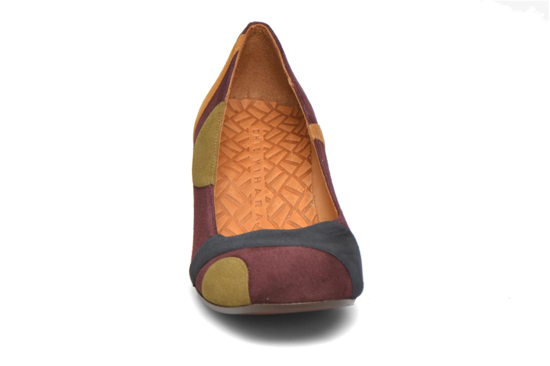 Escarpins Chie Mihara Junia Multicolore vue portées chaussures