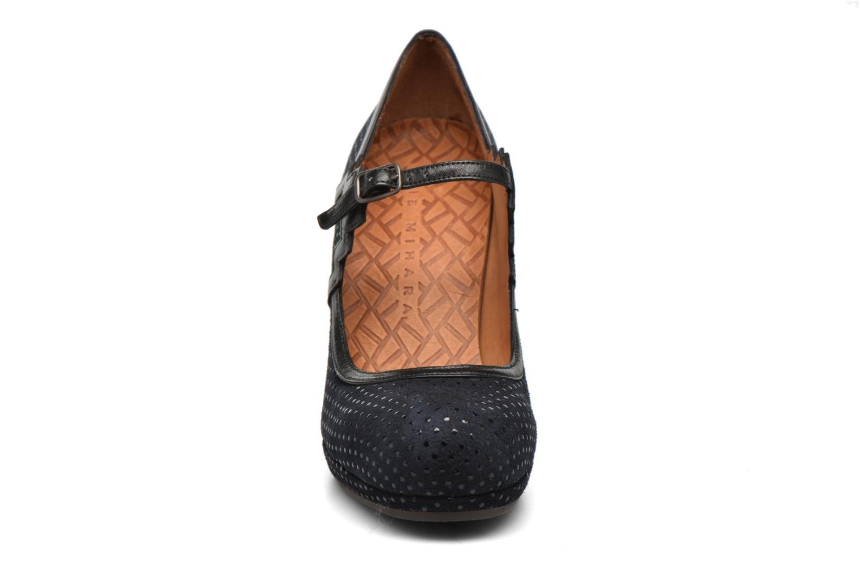Escarpins Chie Mihara Rou Bleu vue portées chaussures