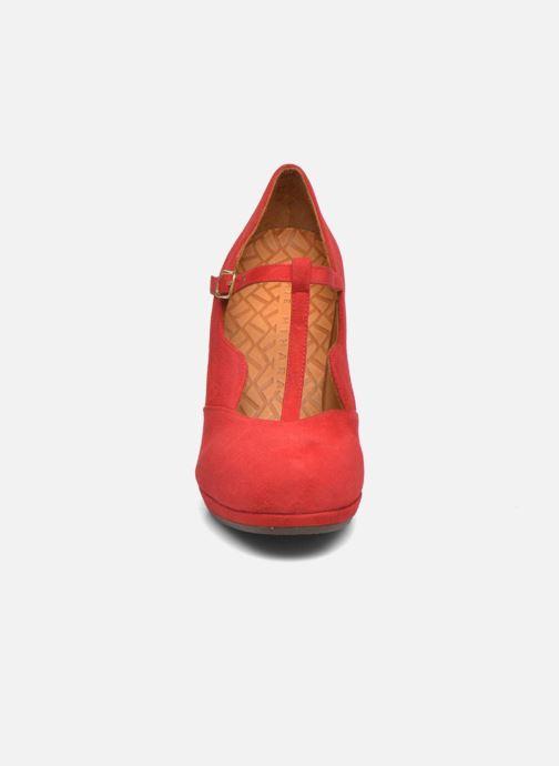 Escarpins Chie Mihara Ruana Rouge vue portées chaussures