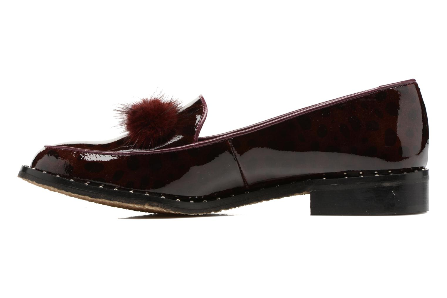 Loafers HE Spring Marina Burgundy front view