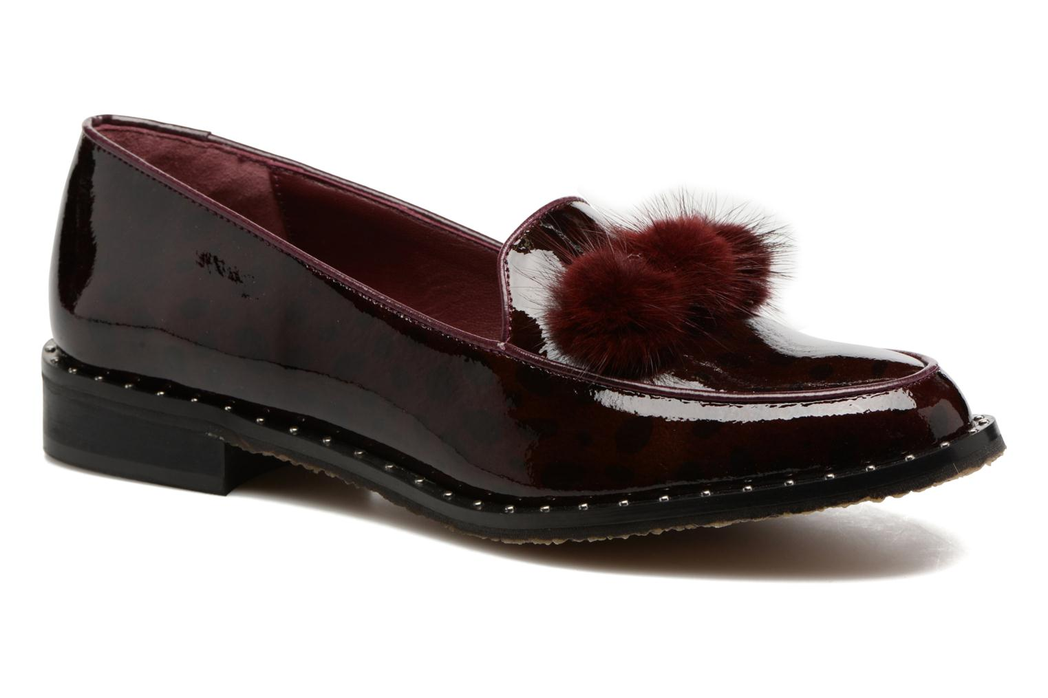Loafers HE Spring Marina Burgundy detailed view/ Pair view