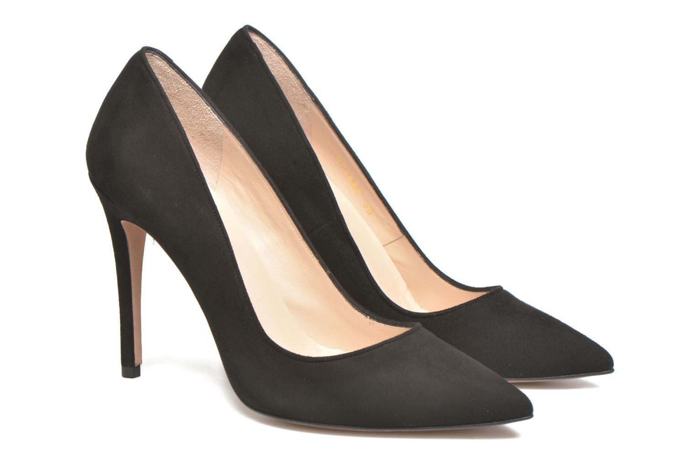 Zapatos de tacón Pura Lopez Ana Negro vista 3/4