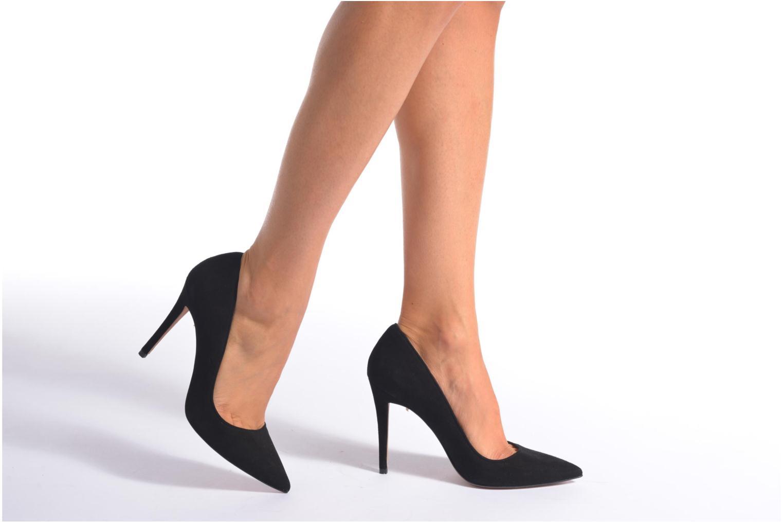 Zapatos de tacón Pura Lopez Ana Negro vista de abajo