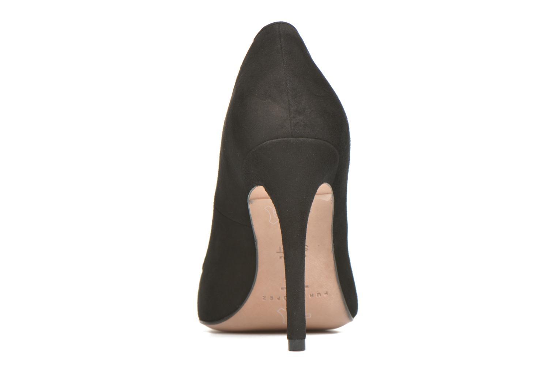 Zapatos de tacón Pura Lopez Ana Negro vista lateral derecha