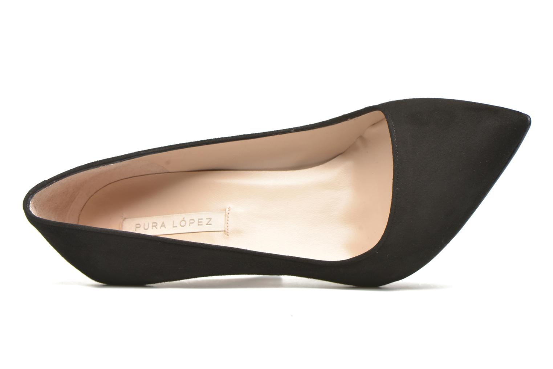 Zapatos de tacón Pura Lopez Ana Negro vista lateral izquierda