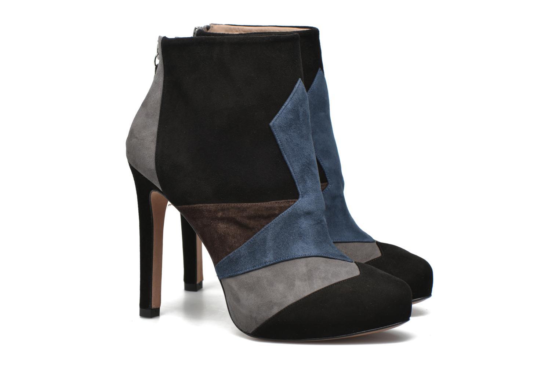 Bottines et boots Pura Lopez Julia Multicolore vue 3/4