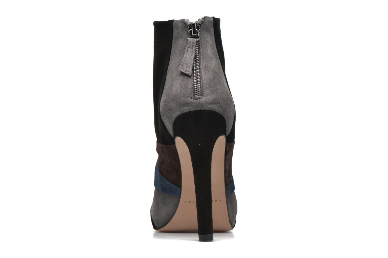 Bottines et boots Pura Lopez Julia Multicolore vue droite