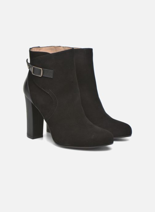 Ankle boots Pura Lopez Gloria Black 3/4 view
