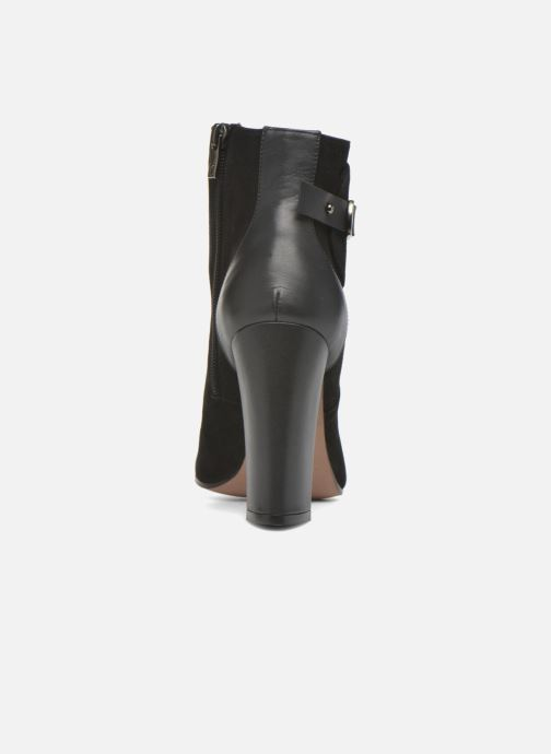 Ankle boots Pura Lopez Gloria Black view from the right