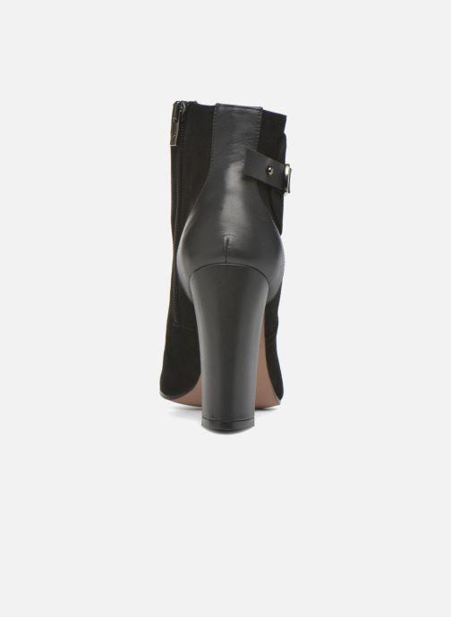 Bottines et boots Pura Lopez Gloria Noir vue droite