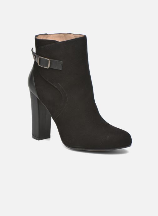 Ankle boots Pura Lopez Gloria Black detailed view/ Pair view