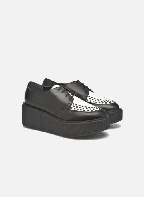 Chaussures à lacets KARL LAGERFELD Sneaker Low Top Choupette Noir vue 3/4