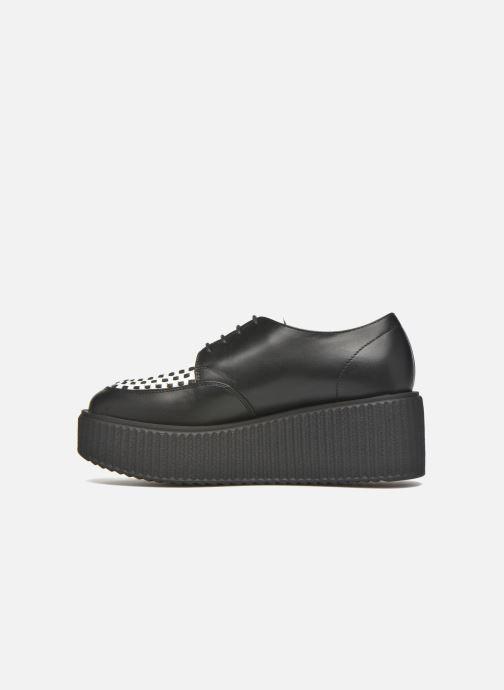 Chaussures à lacets KARL LAGERFELD Sneaker Low Top Choupette Noir vue face