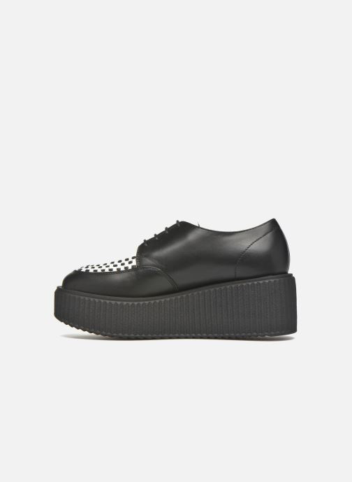 Lace-up shoes KARL LAGERFELD Sneaker Low Top Choupette Black front view