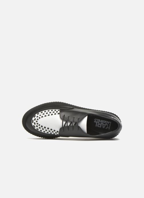 Lace-up shoes KARL LAGERFELD Sneaker Low Top Choupette Black view from the left