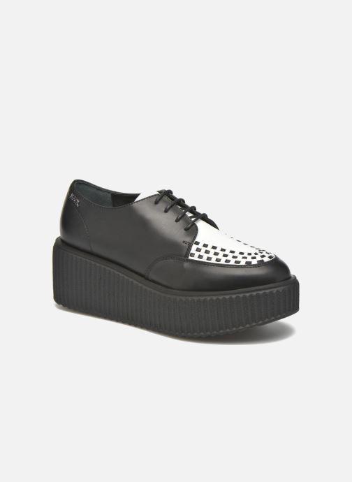 Chaussures à lacets Karl Lagerfeld Sneaker Low Top Choupette Noir vue détail/paire