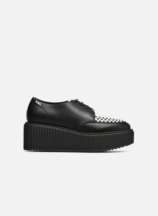 Chaussures à lacets Karl Lagerfeld Cocktail Sleep On Karl Noir vue derrière