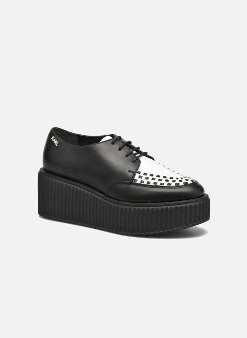 Chaussures à lacets KARL LAGERFELD Cocktail Sleep On Karl Noir vue détail/paire