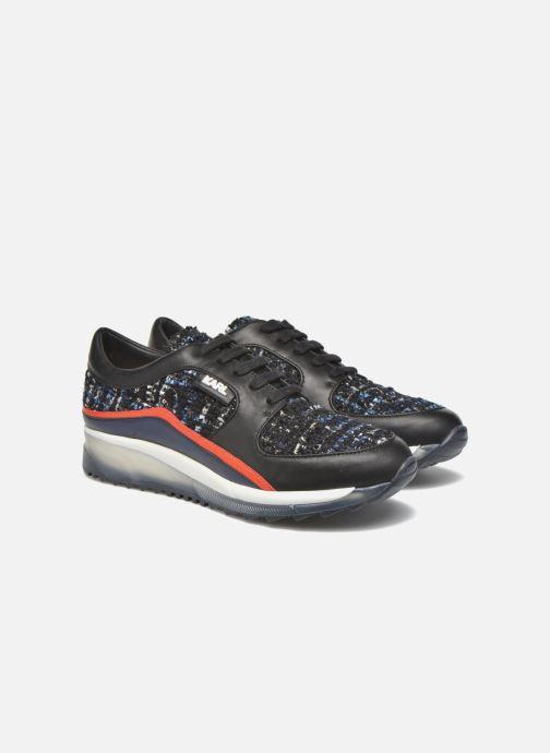 Baskets KARL LAGERFELD Pop Sneaker Noir vue 3/4