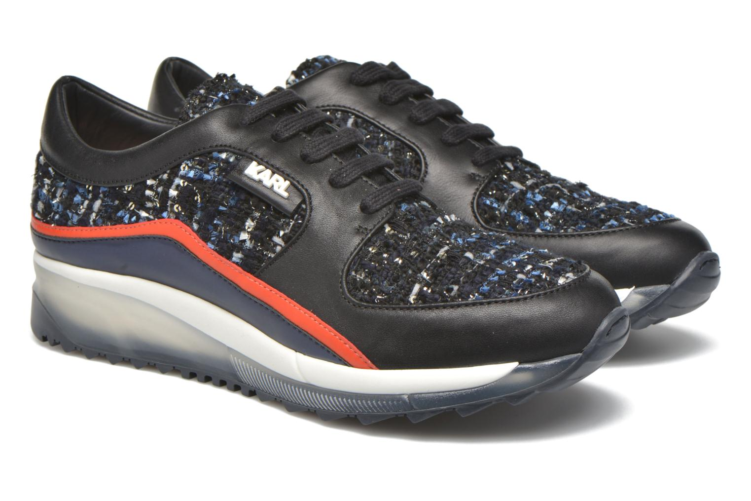 Baskets KARL LAGERFELD Pop Sneaker Noir vue 3/4