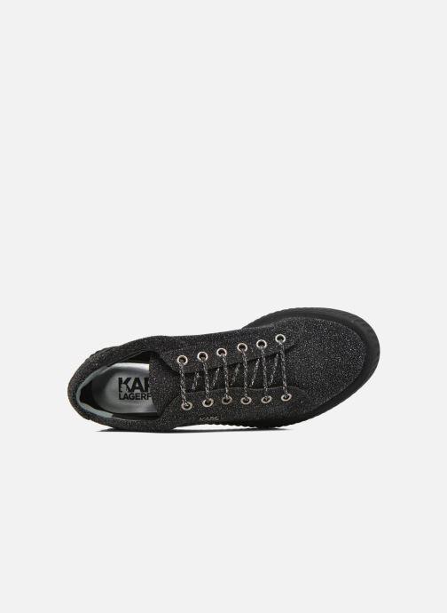 Black Lagerfeld Escarpins Karl Slip On Boucle Rj4c5AL3q