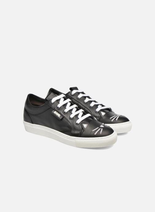 Sneakers Karl Lagerfeld Sneaker Thunder Wit 3/4'