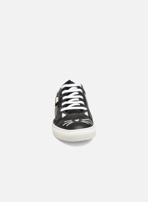 Baskets KARL LAGERFELD Sneaker Thunder Blanc vue portées chaussures
