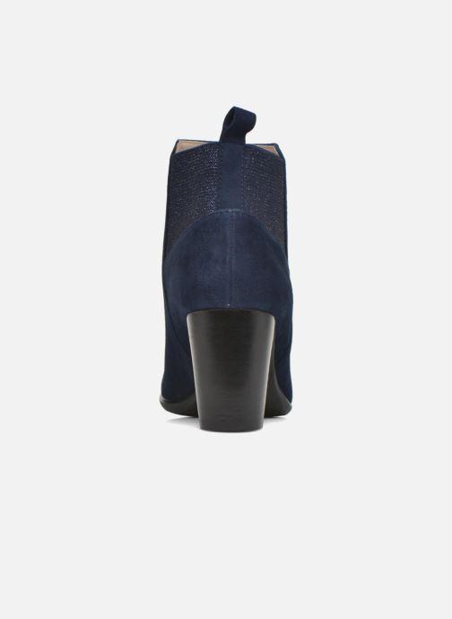 Bottines et boots JB MARTIN Charmel Bleu vue droite