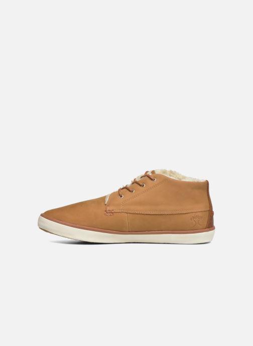 Chaussures à lacets Faguo Wattle 03 Marron vue face