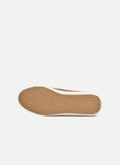 Chaussures à lacets Faguo Wattle 03 Marron vue haut