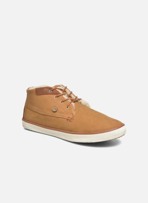 Chaussures à lacets Faguo Wattle 03 Marron vue détail/paire