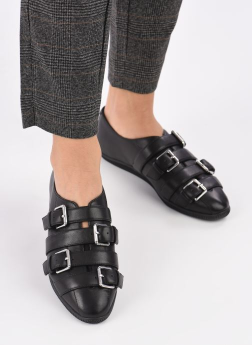 Loafers Opening Ceremony NOVVA Black view from underneath / model view