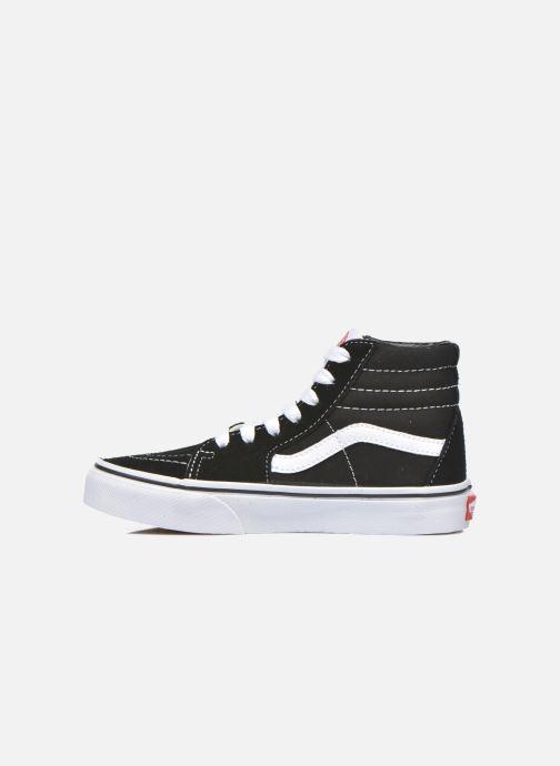 Sneaker Vans SK8-Hi K schwarz ansicht von vorne