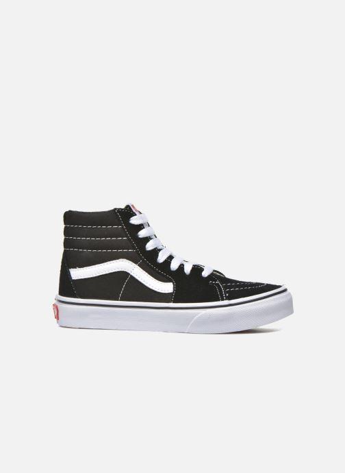 Sneaker Vans SK8-Hi K schwarz ansicht von hinten