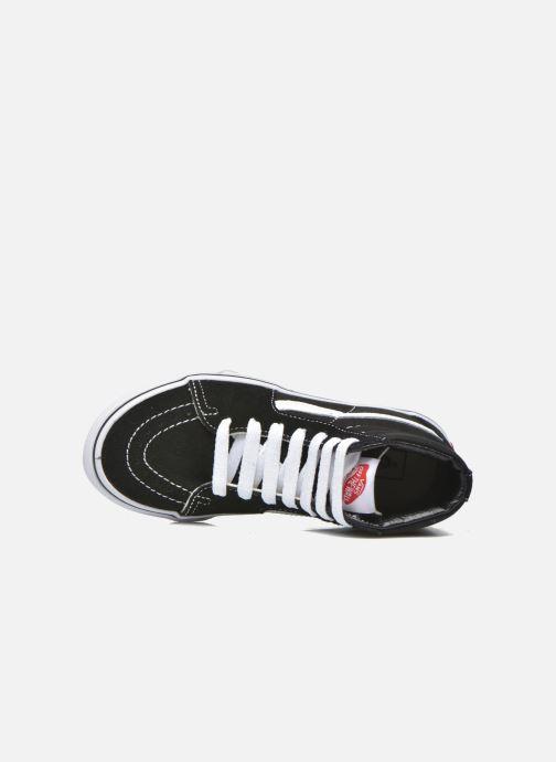 Sneaker Vans SK8-Hi K schwarz ansicht von links