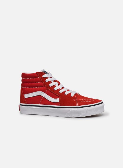 Sneakers Vans SK8-Hi K Rosso immagine posteriore