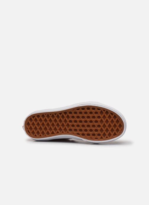 Sneakers Vans SK8-Hi K Rosso immagine dall'alto