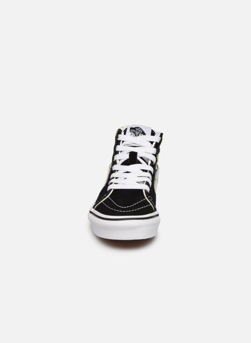 Sneaker Vans SK8-Hi K schwarz schuhe getragen