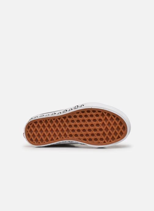 Sneaker Vans SK8-Hi K schwarz ansicht von oben